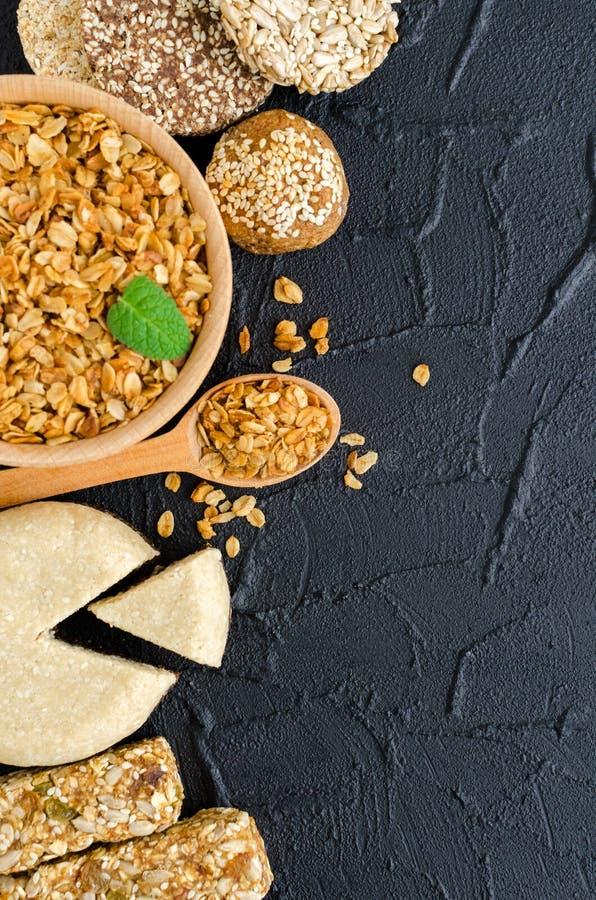 健康素食食物概念 库存照片