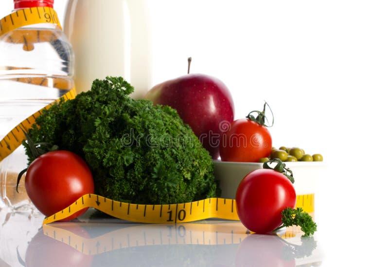健康节食的营养 免版税库存图片