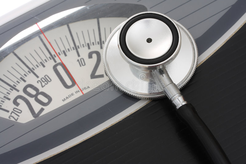 健康重量 库存照片