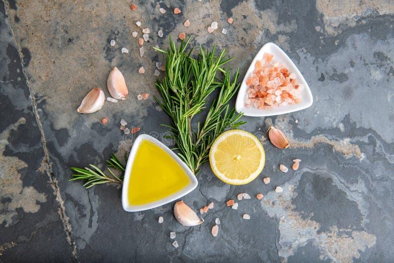 健康食品干净的吃选择 免版税库存照片