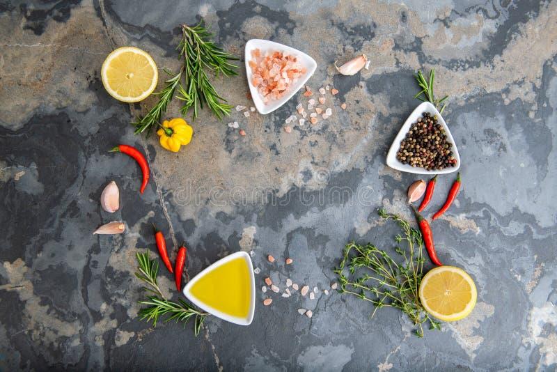 健康食品干净的吃选择 免版税库存图片