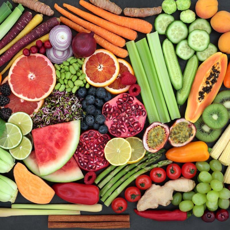 健康食品汇集 库存图片