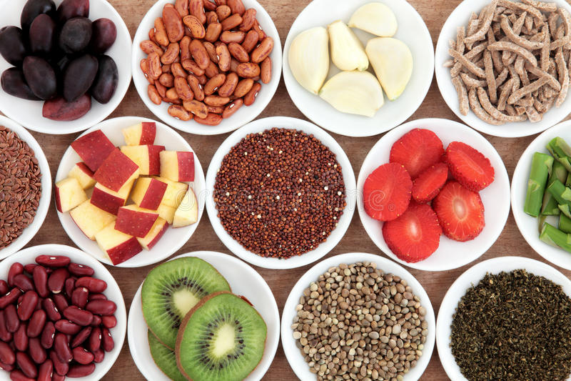 健康食品 图库摄影