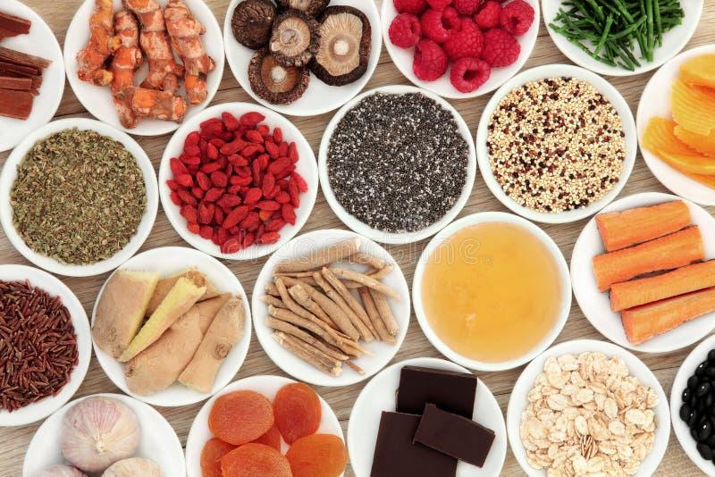 健康食品 库存图片