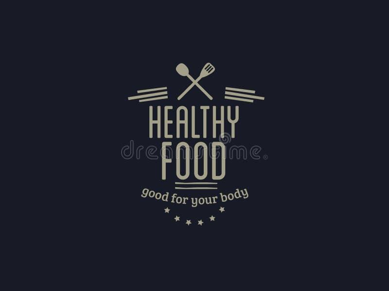 健康食物传染媒介行情 免版税库存照片