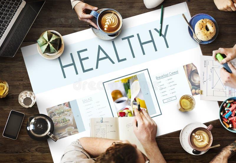健康食物福利生活方式营养概念 免版税库存照片