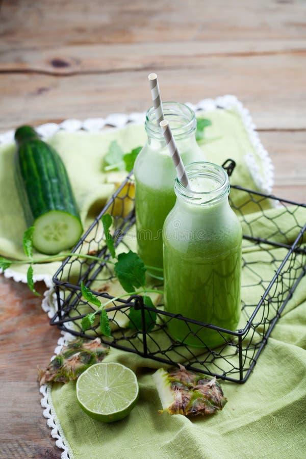 健康绿色汁液 库存图片