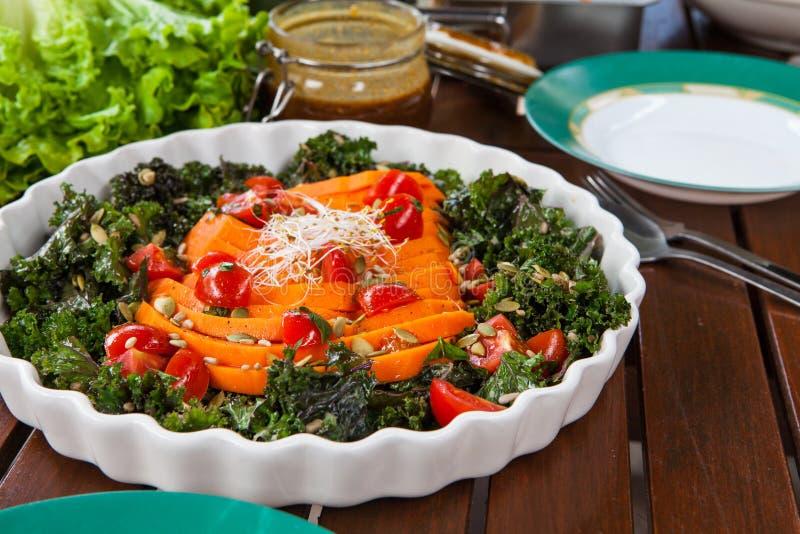 健康素食主义者食物 免版税库存图片