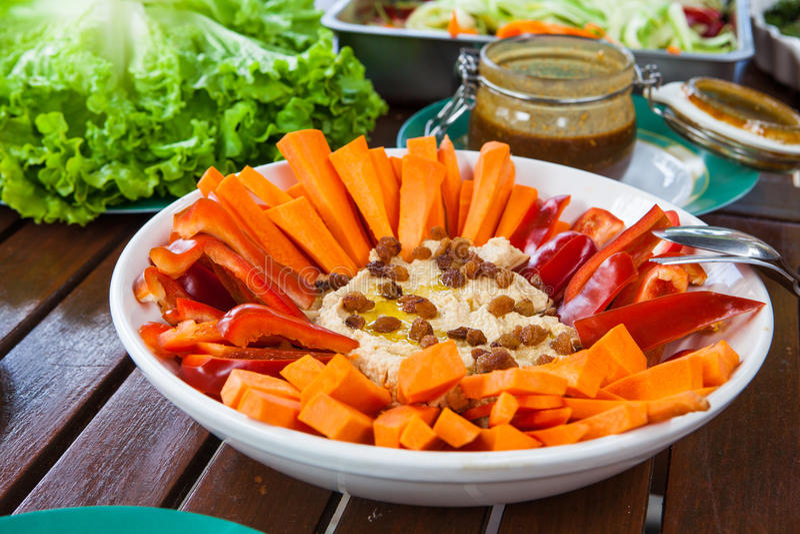 健康素食主义者食物 库存图片