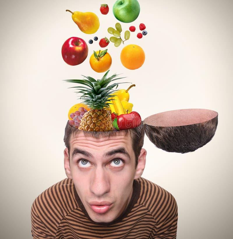 健脑食品。 免版税库存照片