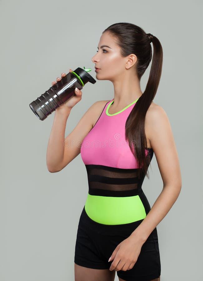 健身、体育、训练和生活方式概念 图库摄影