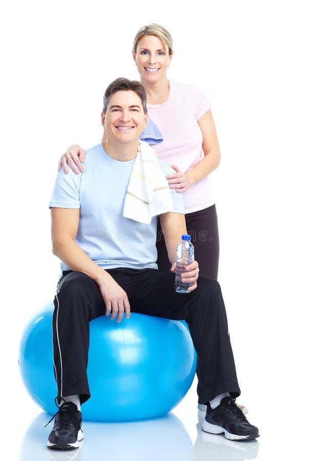 健身体操 免版税库存图片