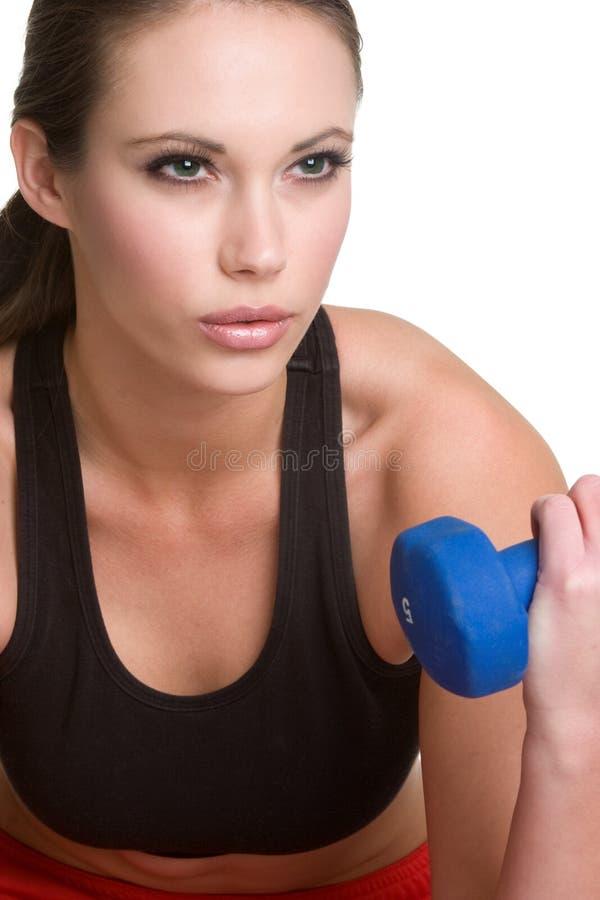 健身女孩 库存图片