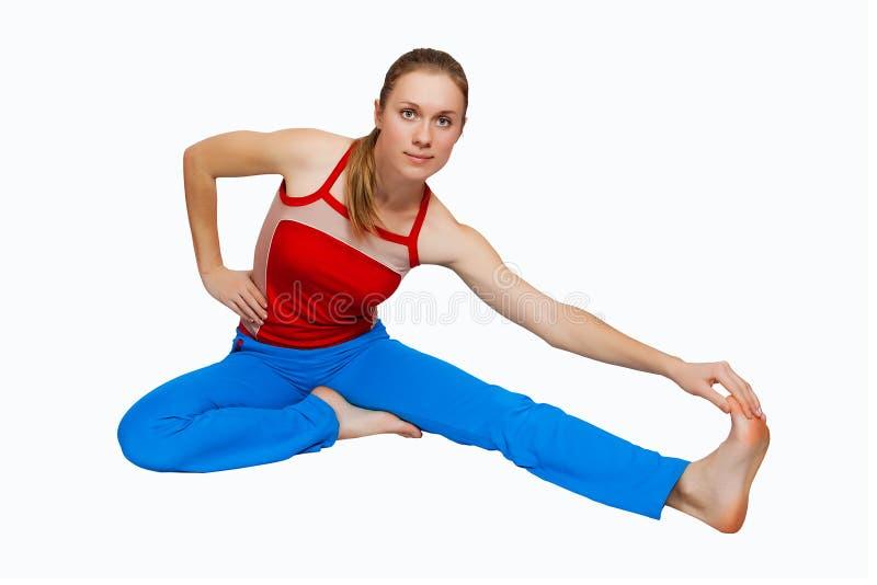 健身妇女年轻人 库存照片