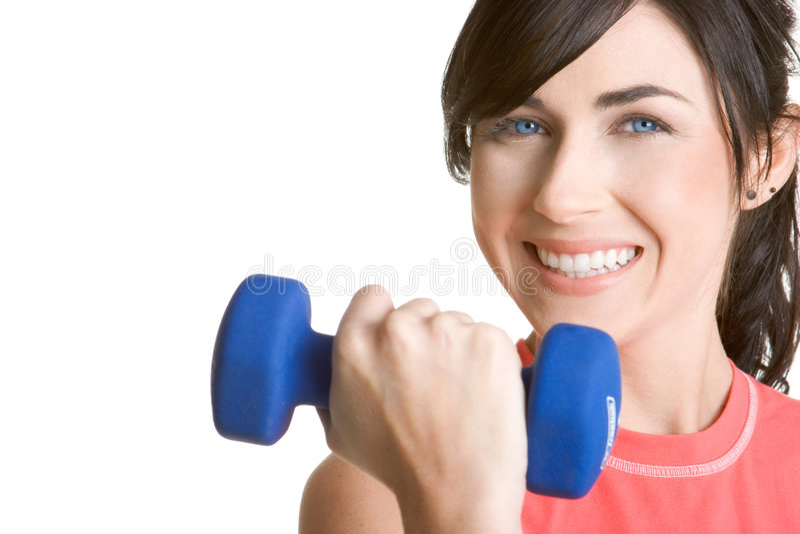 健身妇女 库存照片