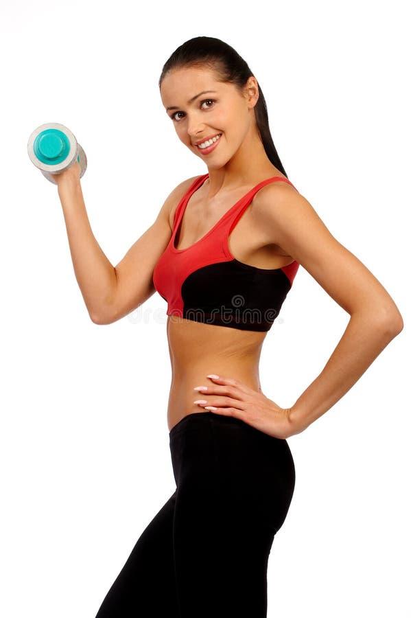 健身妇女 图库摄影