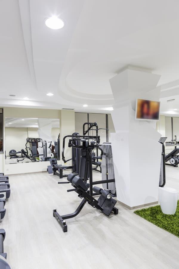 健身房内部 免版税图库摄影