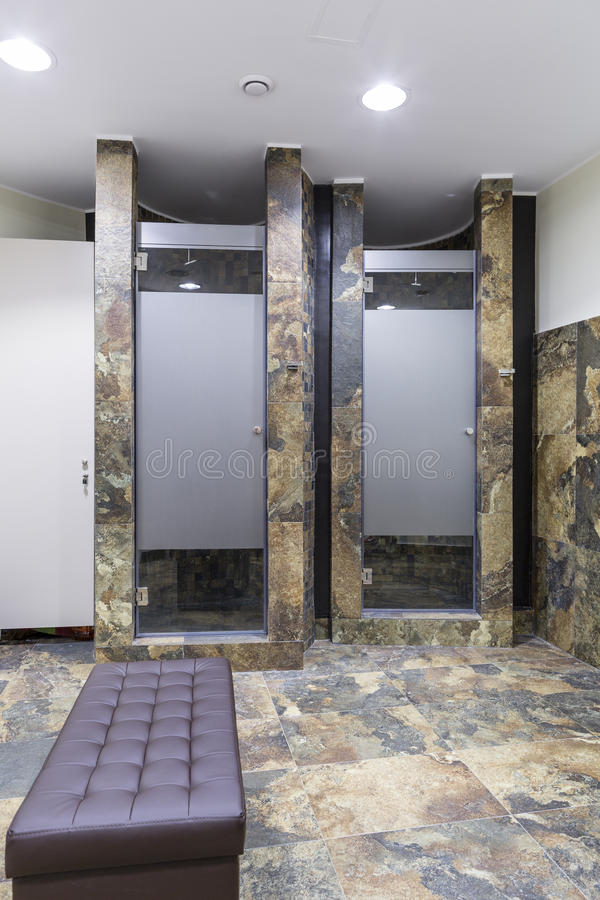 健身房和健康洗手间 免版税图库摄影