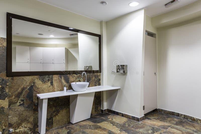健身房和健康洗手间 免版税库存图片