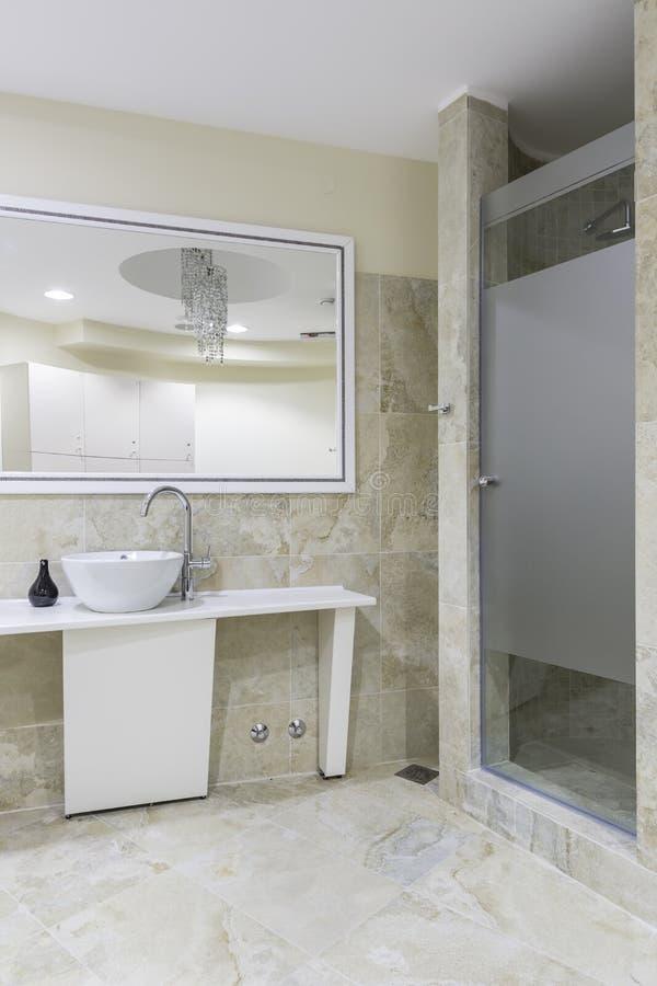 健身房和健康洗手间 库存图片