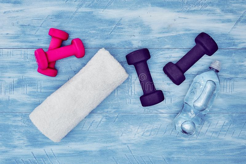 健身房设备 免版税库存照片