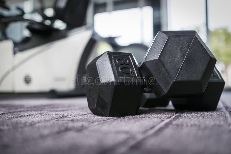 健身房重量 免版税库存图片