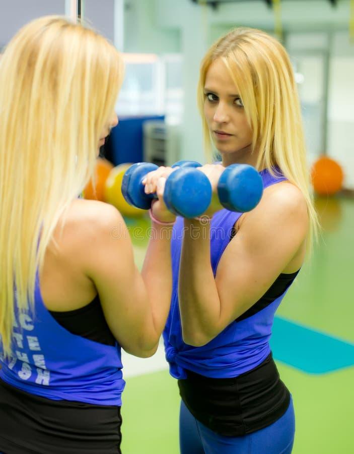健身教练员 免版税库存图片