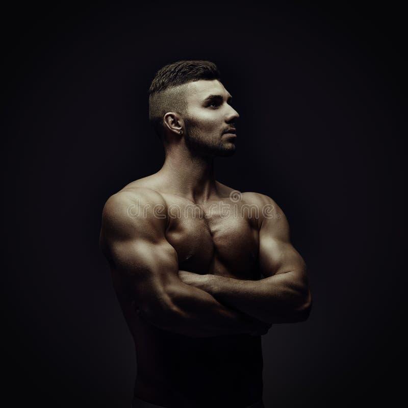健身模型 图库摄影