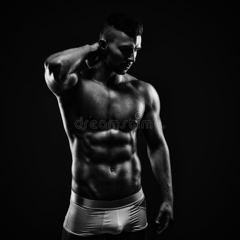 健身模型 免版税库存照片