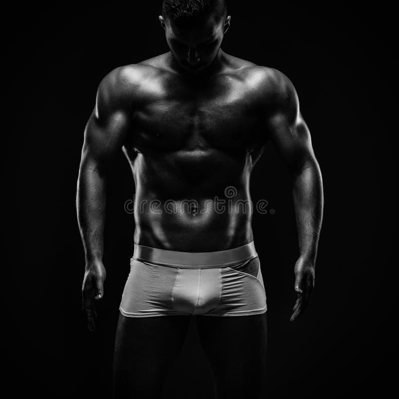 健身模型 库存照片