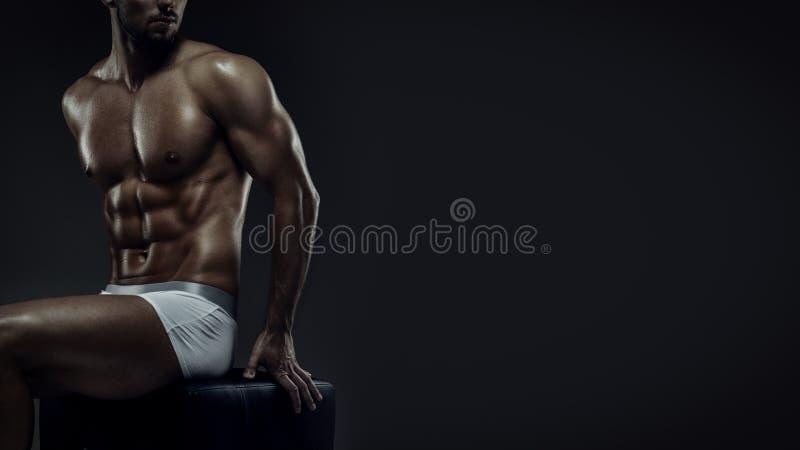 健身模型 免版税库存图片