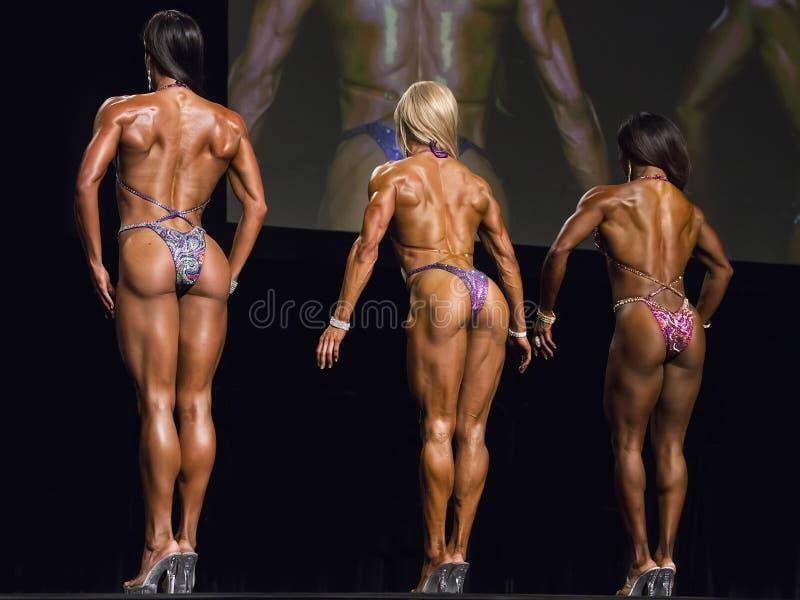 健身秀丽联盟在温哥华 免版税库存照片