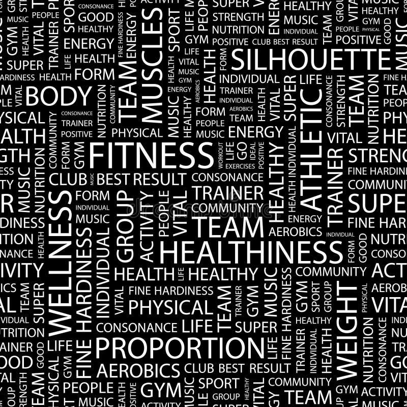 健身 向量例证