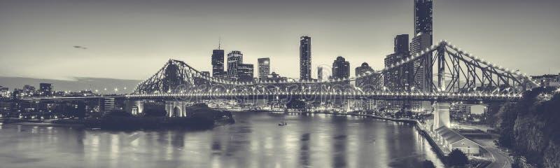 偶象故事桥梁在布里斯班,昆士兰,澳大利亚 库存照片