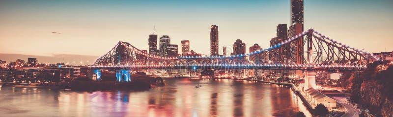 偶象故事桥梁在布里斯班,昆士兰,澳大利亚 库存图片