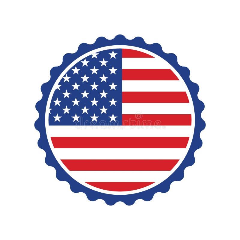 储蓄传染媒介传染媒介在美国做了签署5 库存例证