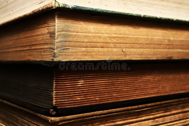 储蓄旧书 库存图片