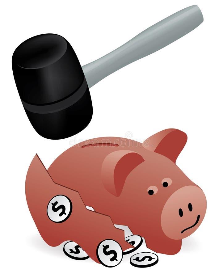 储蓄 向量例证