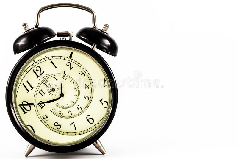 催眠时钟 库存图片