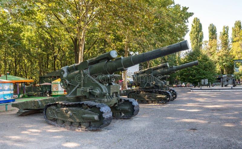 傲德萨英勇防御的纪念品  免版税库存图片