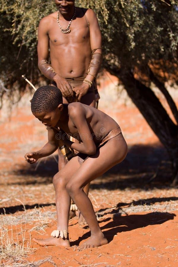 儿童丛林居民 库存图片