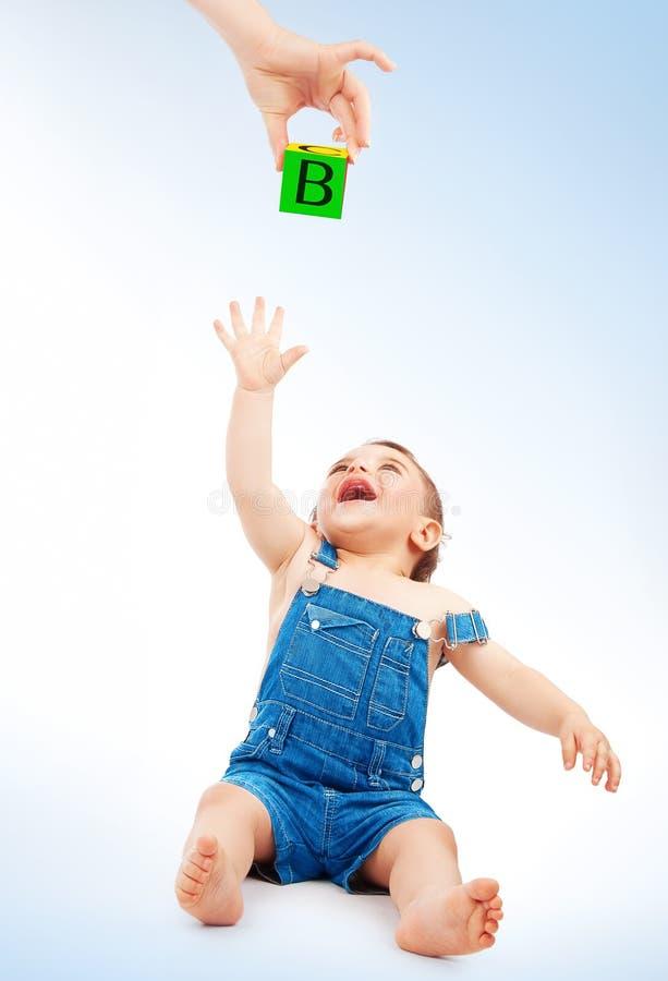儿童乐趣愉快有 免版税库存图片