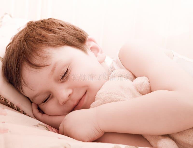 儿童休眠女用连杉衬裤 免版税图库摄影