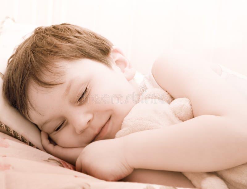 儿童休眠女用连杉衬裤 免版税库存照片