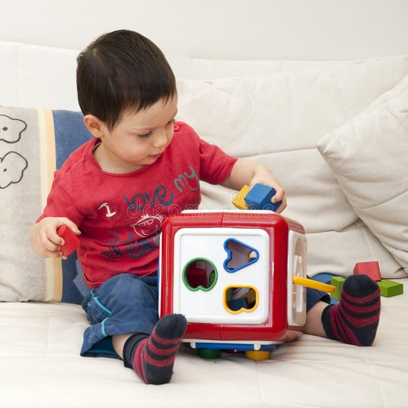 儿童使用 免版税图库摄影