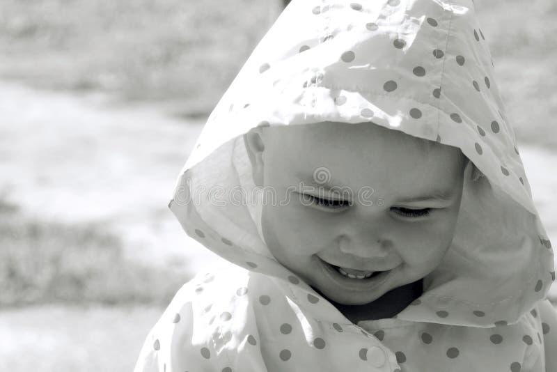 儿童俏丽微笑 库存图片