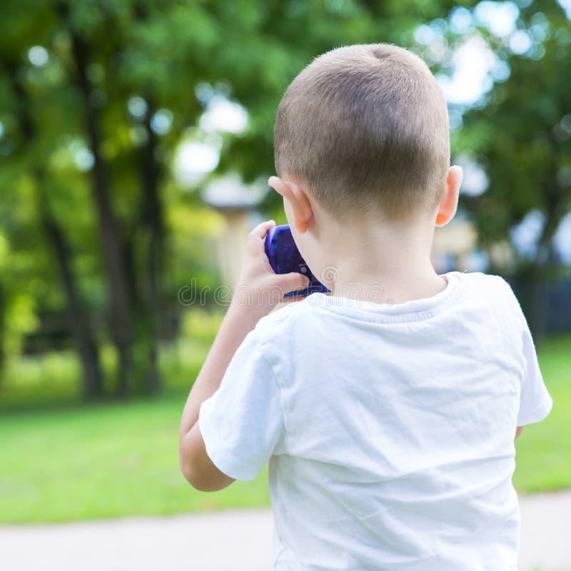 儿童公园使用 免版税库存照片