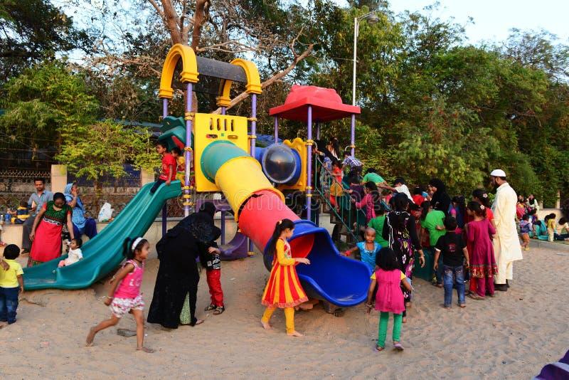 儿童公园 免版税库存图片