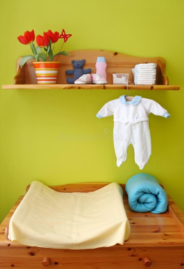 儿童内部空间 免版税库存照片