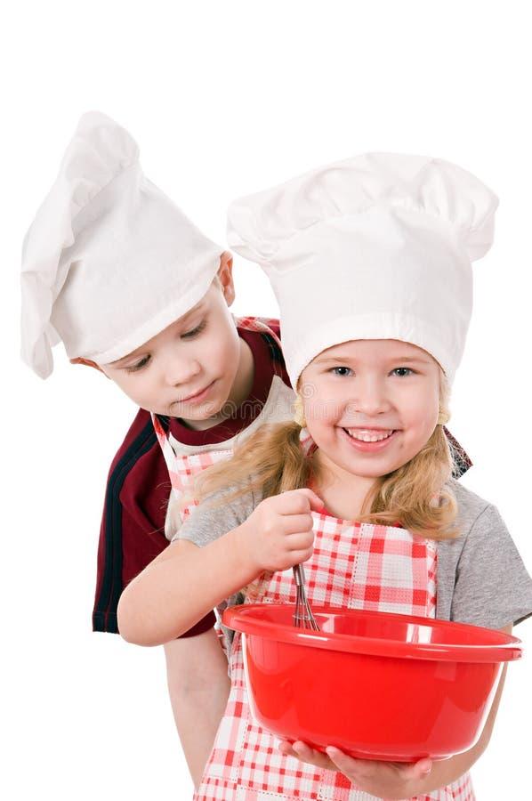儿童厨师二 免版税图库摄影
